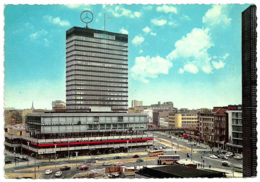 Europa Center in the 60's