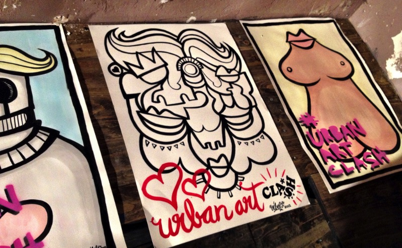 At the Berlin Street Art Meeting we realized that we love El Bocho and Klub 7 even more than before. Now we need to buy some frames for all the postcards we got it there. See the pictures below and you will see what we are talking about.
