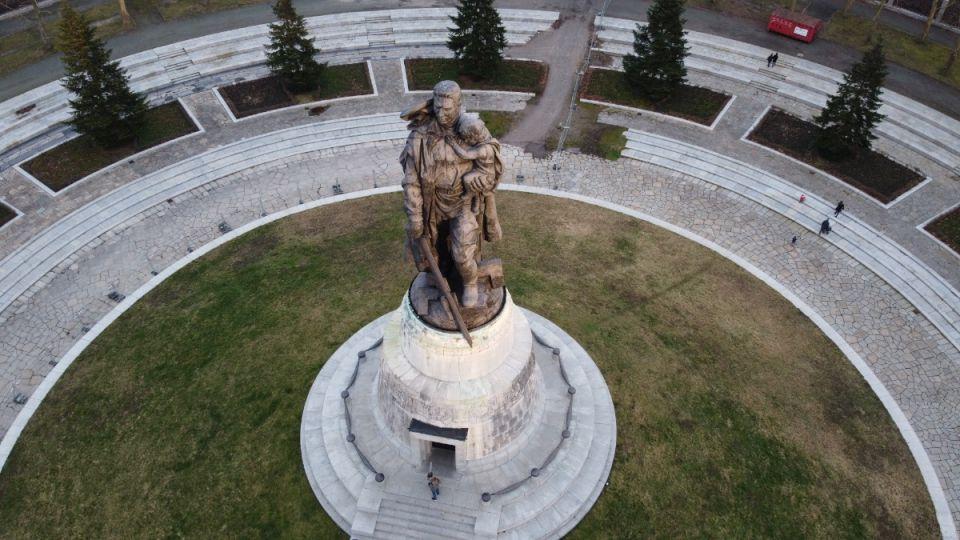 Berlin Soviet Memorial: Treptower Park