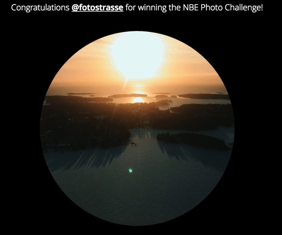 NBE Finland Photo Challenge with Momondo
