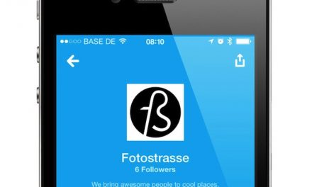 A Foursquare page for Fotostrasse