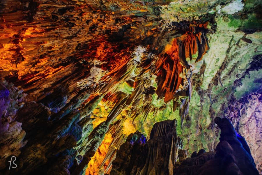 Grotte di Castellana, or Castellana Caves in english, are a system of caves in Puglia. If you are in south of Italy, you should find a way to get there.