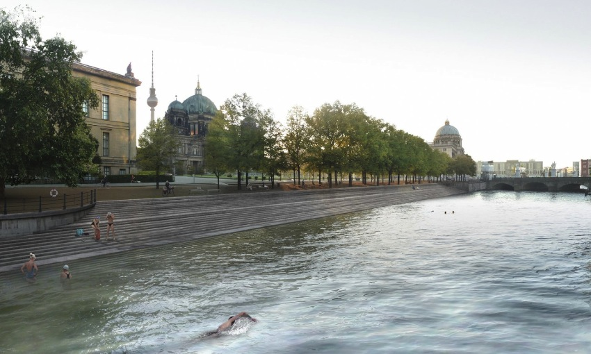 Flussbad Berlin: Swimming in the Spree