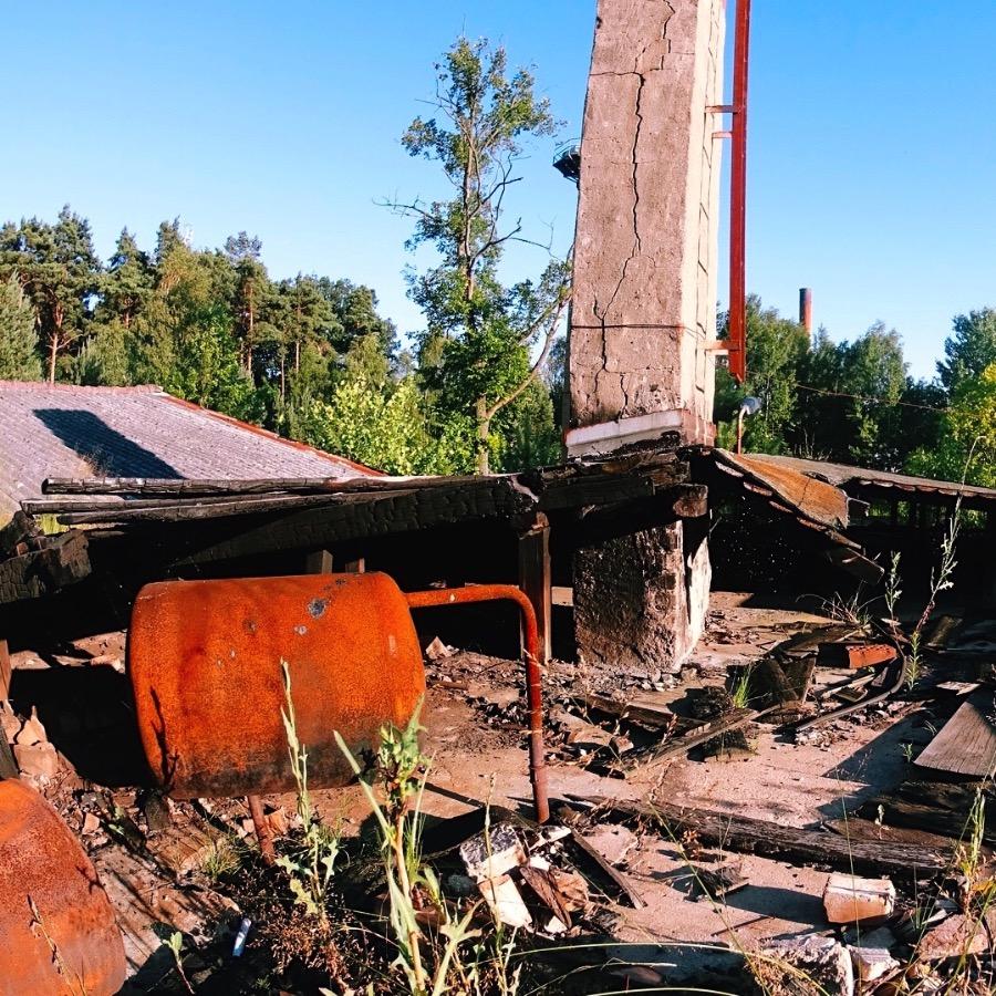 Exploring the Abandoned SS Brotfabrik in Oranienburg