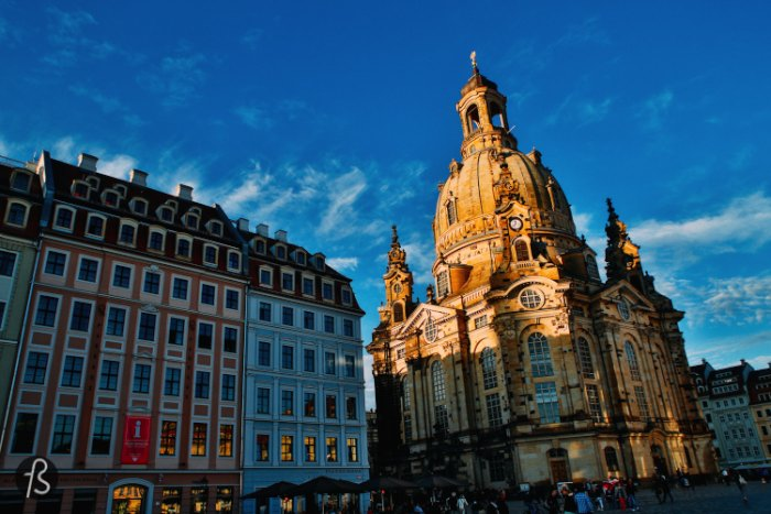 what to do in dresden visiting the frauenkirche via fotostrasse. Black Bedroom Furniture Sets. Home Design Ideas