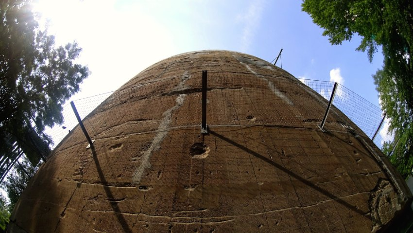 Schwerbelastungskorper: A Visit to the Concrete Monster