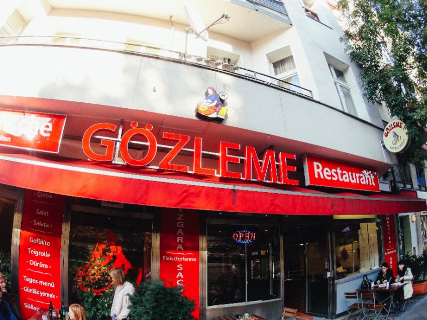 Gozleme Restaurant is one of these places that we always walked in front of but never felt like we should go in. Now, we can say that it was a mistake to ignore this restaurant for so long. It was there that our love for Manti appeared. Every time we feel like eating another manti, we know it is time to visit the Gozleme Restaurant again since it is the best manti in Berlin.