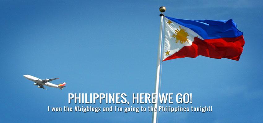 Philippines, here we go!