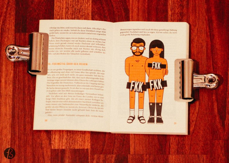 Fotostrasse Holiday Gift Guide How to be German - How to Be German in 50 Easy Steps is the perfect present for that friend that just moved in. Welcome to Berlin, little Ausländer.