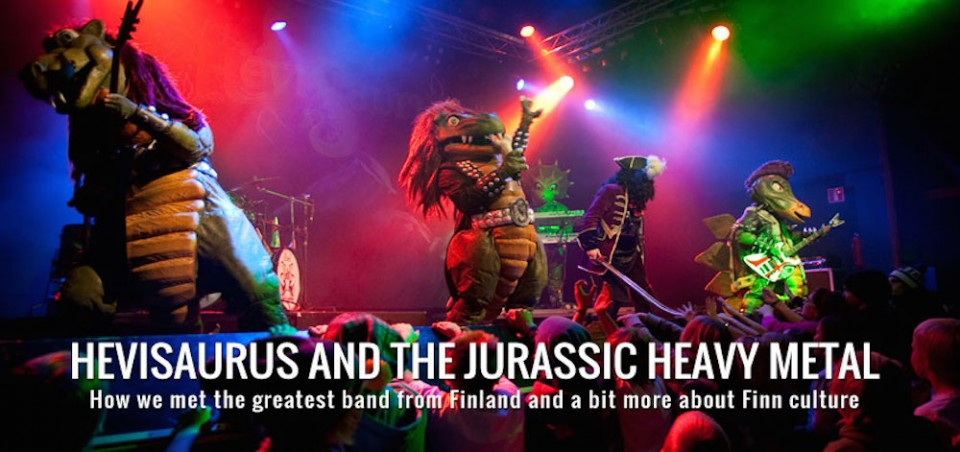 Hevisaurus, the Jurassic Dark Lords of Finnish Heavy Metal