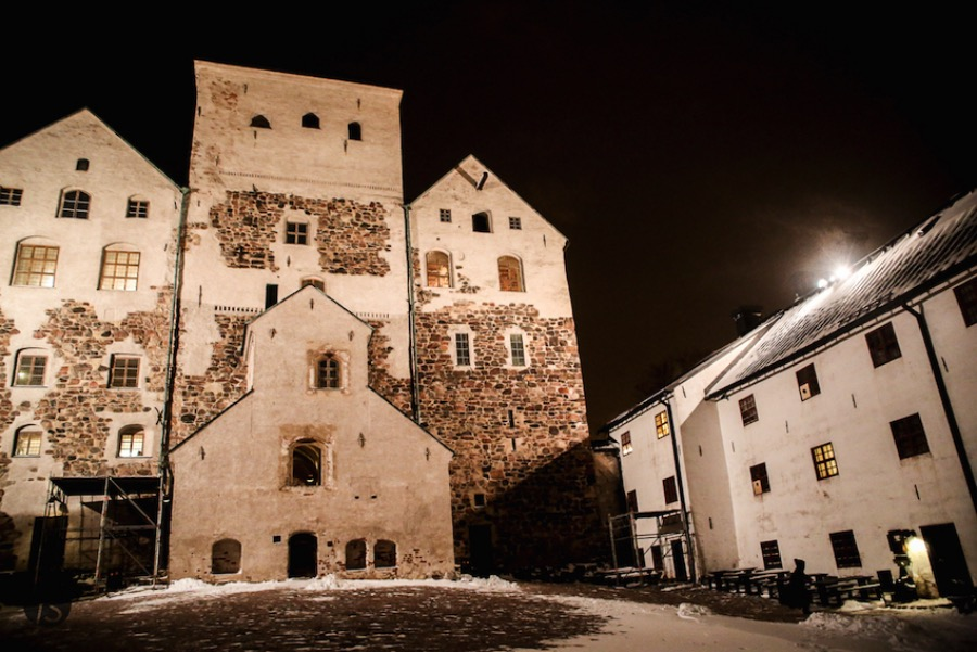Turku Castle: Torture, Death and Ghosts Tour