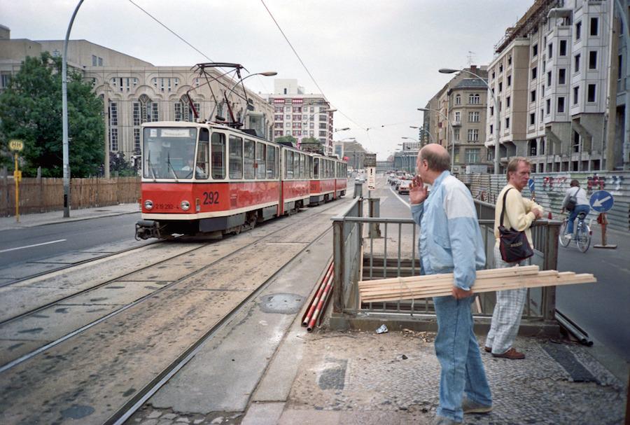 Berlin Mitte in 1991 on Fotostrasse