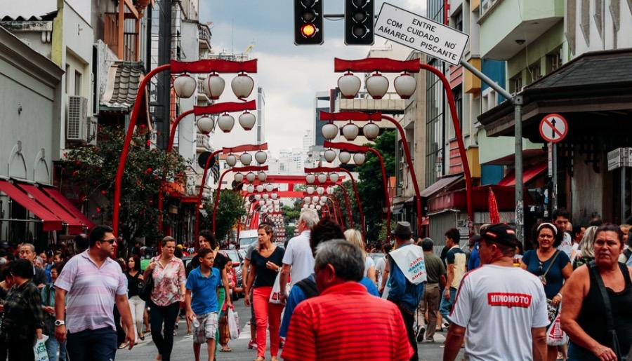 São Paulo's Japanese Neighborhood – Liberdade