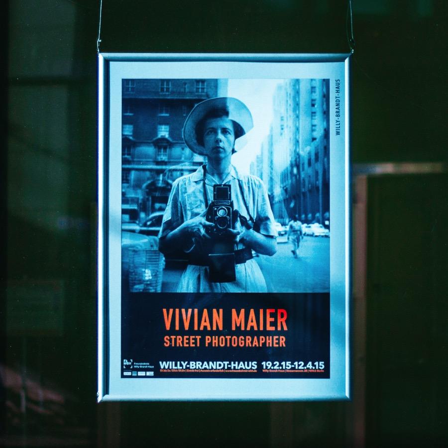 Vivian Maier at Willy Brandt Haus