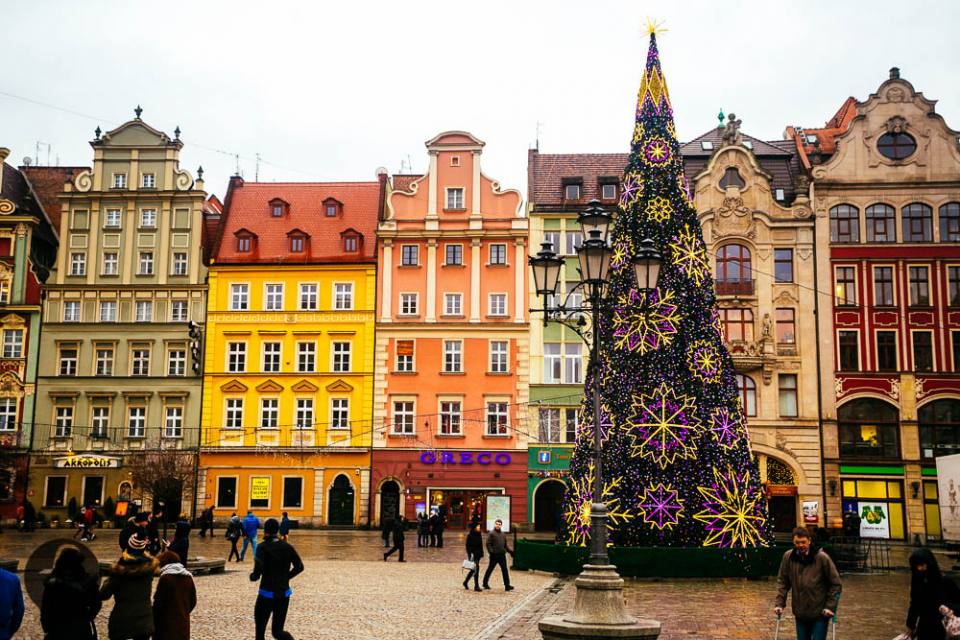 Wroclaw Market and the Salt Square