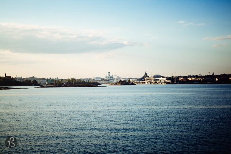 This is how Helsinki looks like from Suomenlinna