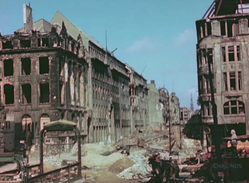 Berlin 1945 in Video: We all know that Berlin was the Capital of Nazi Germany and, because of that, the city paid a high prize for being the capital of a country going to war against half the world.