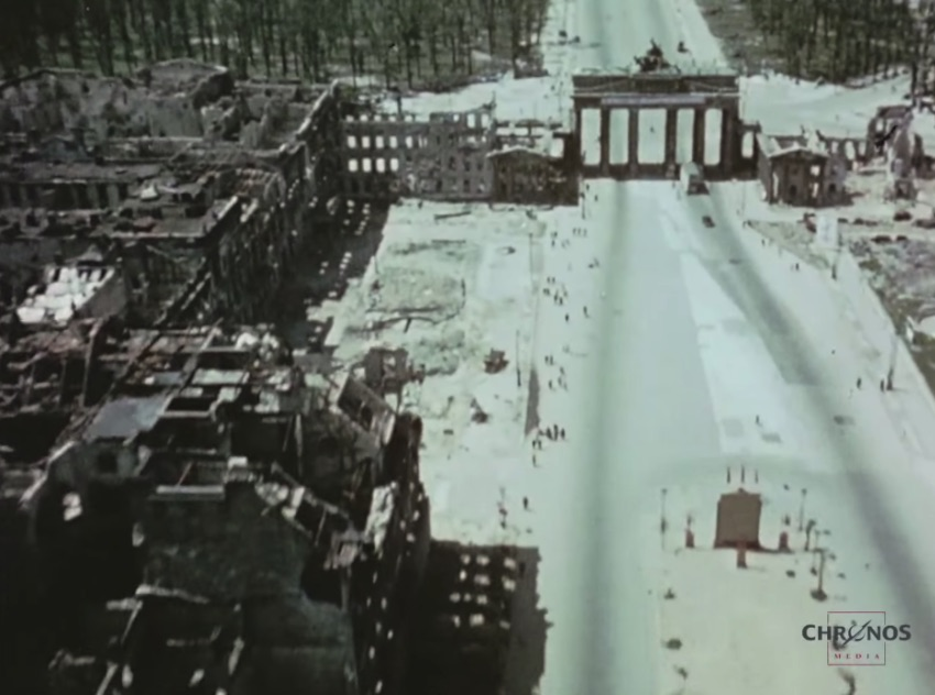 Berlin 1945 in Video: the Destroyed German Capital