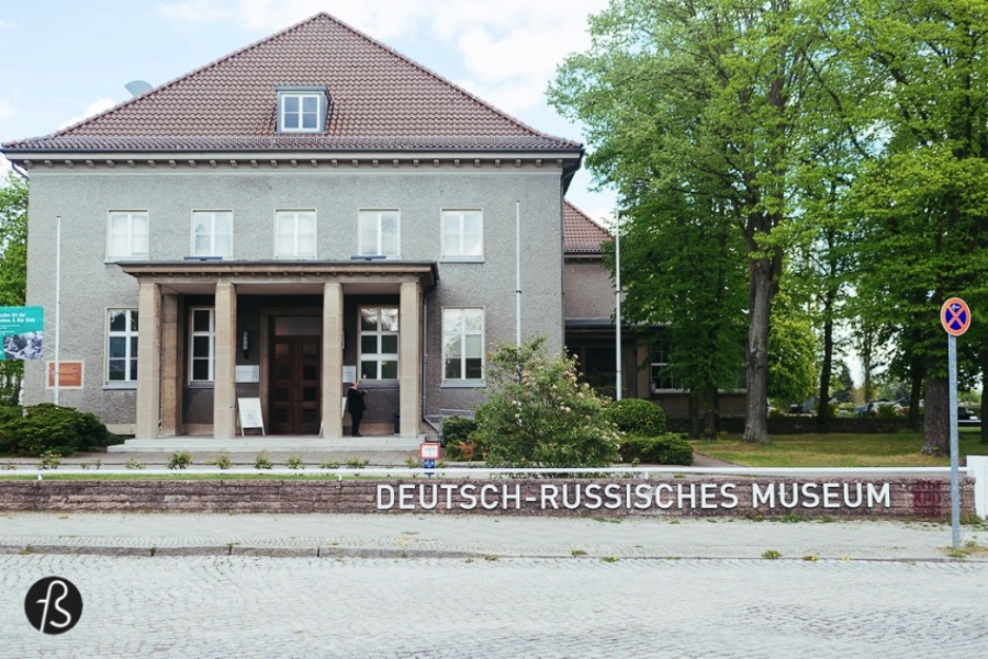 Our visit to the German Russian Museum in Karlshorst, the place where Nazi Germany surrendered in 70 years ago today.