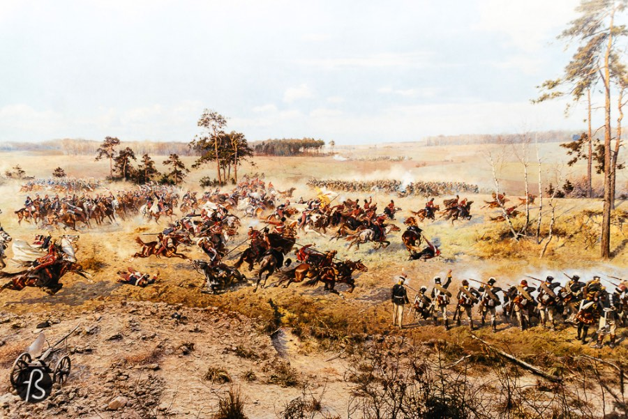 The Panorama of the Battle of Racławice is the only surviving Polish panorama painting left and one of the only few preserved in the world. This large painting, if we can describe it like that, shows the Battle of Racławice. It was a famous episode of the Kościuszko Uprising against Prussia and Imperial Russia, a heroic but failed attempt to defend Polish Independence back in 1794.