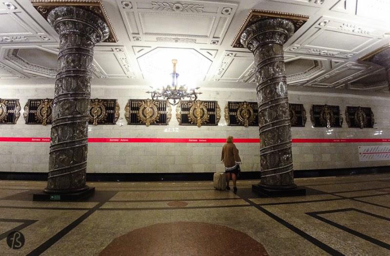 Saint Peterburg Subway Map.St Petersburg Metro Exploring The Russian Underground Via Fotostrasse