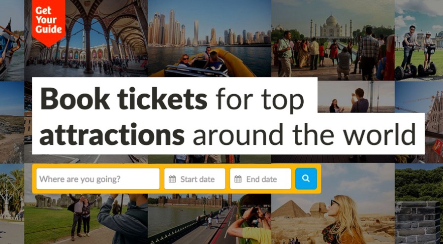 Book all your attractions, tours and more with no hassle and with the best price with Get your Guide!