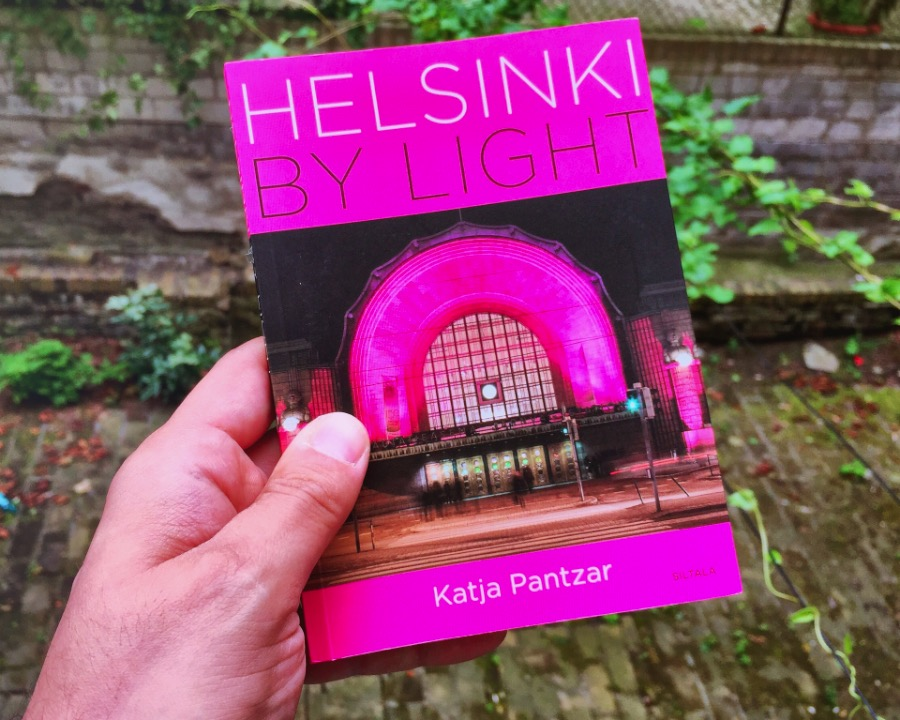 This is about her book, Helsinki by Light, a journey through the Finnish capital with an eye towards the light. The books show how Helsinki is shaped by light, seasons of light. During the summer months, Helsinki is flooded with a never ending light. There is no night anymore and this changes the city completely. The parks are filled with the sound of people doing barbecues and playing. There is music everywhere until late at night.