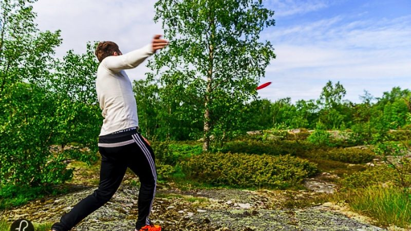 We went to Lappo to play Frisbee Golf via @fotostrasse