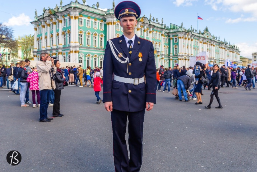 When we were talking to Timetravels about going to Russia, we were always keen of going there in the beginning of May just to be able to see the Victory Parade. The Victory Parade is somehow important to us and interesting in a way that is hard to explain.