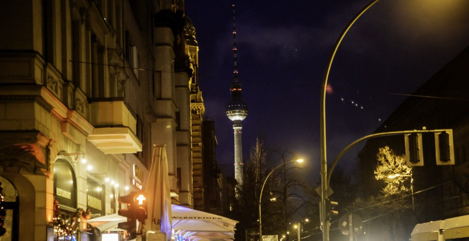 Free wifi in Berlin Mitte