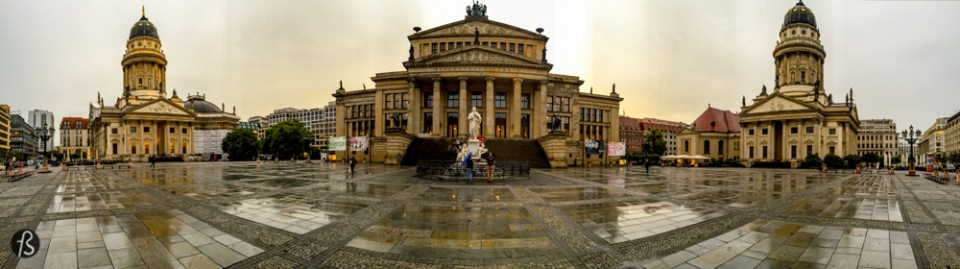 When people visit Berlin for the first time, they find time to visit Checkpoint Charlie. But what is around Checkpoint Charlie is better! The Gendarmenmarkt is considered to be among the most beautiful plazas in all of Europe. The square was created in the end of the seventeenth century and got its name after the cuirassier regiment Gens d'Armes, that had stables at the square until 1773