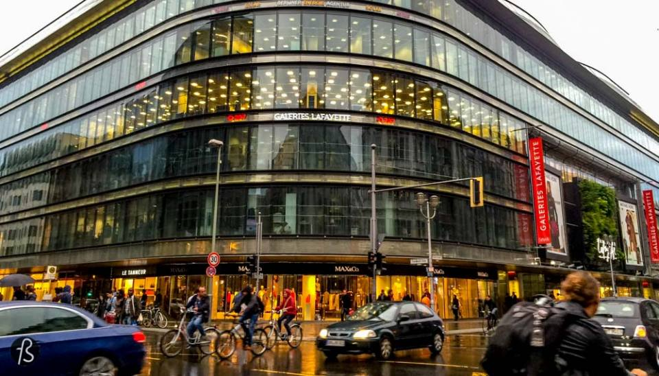 When people visit Berlin for the first time, they find time to visit Checkpoint Charlie. But what is around Checkpoint Charlie is better! The north part of Checkpoint Charlie became, over the years, a massive hub for big stores and a lot of people enjoy the beautiful stores you're going to find there. From the big Departmentstore Quartier 206 to the famous Galeries Lafayette Berlin, this area of Berlin is one of the best places to do your shopping if you have large pockets.