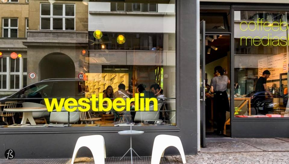 When people visit Berlin for the first time, they find time to visit Checkpoint Charlie. But what is around Checkpoint Charlie is better! Westberlin is a cafe located close to Checkpoint Charlie but is not one of the many international chains that are crowded with tourists. Westberlin is the opposite of everything around the area and this is why you have to grab a coffee here, enjoy the free wifi and the amazing selection of international magazines and newspapers they offer.