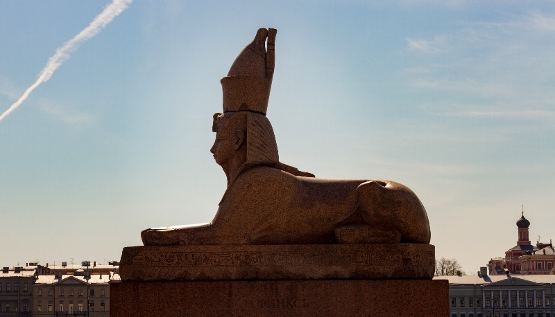 The Sphinx of Saint Petersburg