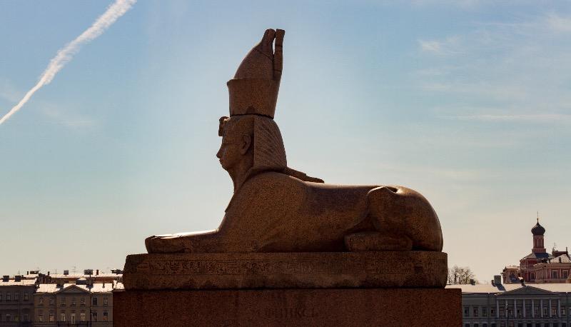 The Sphinx of Saint Petersburg
