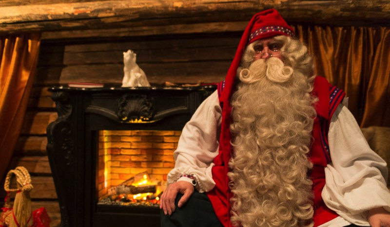 We Visited Santa's Cottage in Espoo