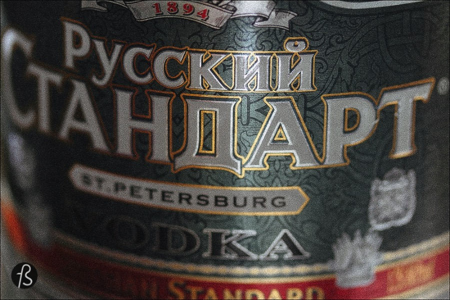 In Russia, you will not be served vodka everywhere and every time. It took actually 3 days in Russia for us to have the first shot! I have to confess that I thought that if I open the tap on my hotel sink I would find vodka and not water. Silly me. LOL.