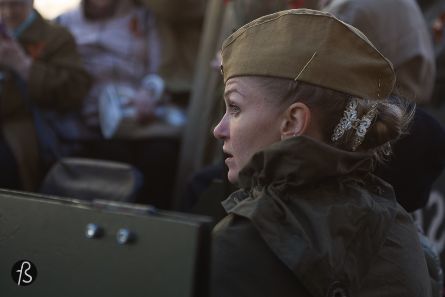 In Russia, cosplay means red army
