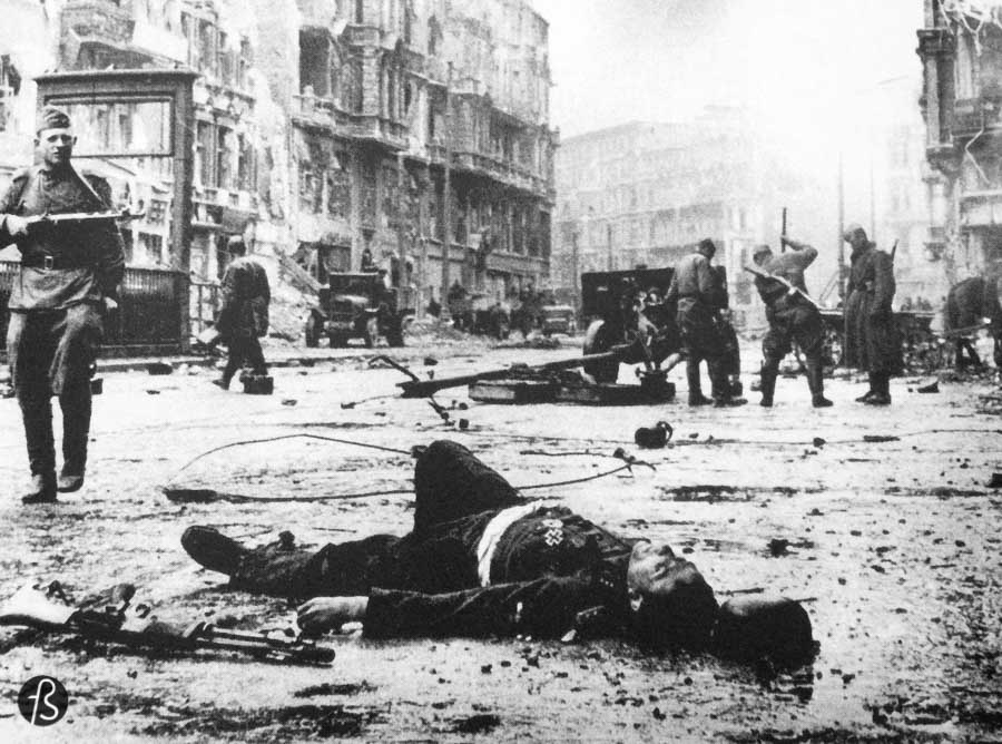 Berlin 1945 - Photos of the Aftermath is split in ten chapters filled with large back and white pictures of the aftermath. And these pictures are impressive and show an unexplored history that can be haunting to some when you go through the book. But this is a gold mine for history lovers.