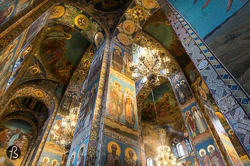 The Church of the Savior on Spilled Blood in St. Petersburg is a church of many names. Some call it Church of Our Savior on Blood, Church on the Blood, Temple of the Savior on Spilled Blood and the Church of the Resurrection of Jesus Christ. Either way, this is a special church since it was built where Tzar Alexander II was fatally wounded in March 1881.