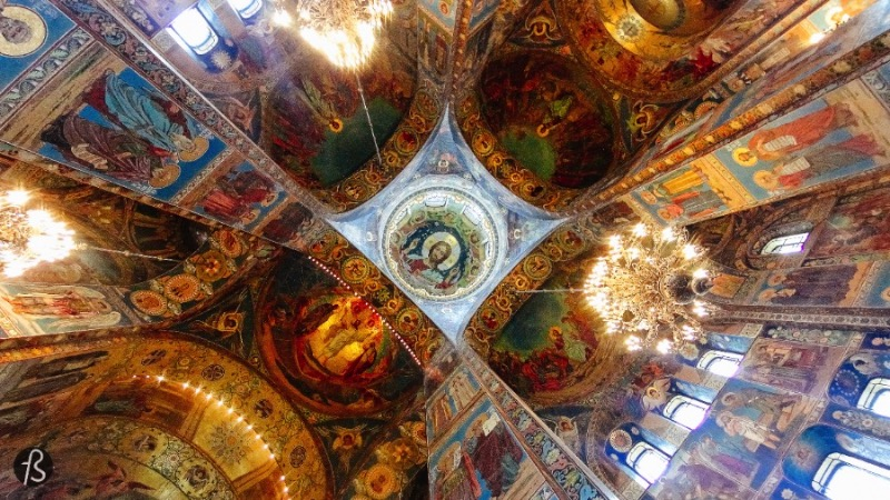 The Church of the Savior on Spilled Blood in St. Petersburg for Fotostrasse 18