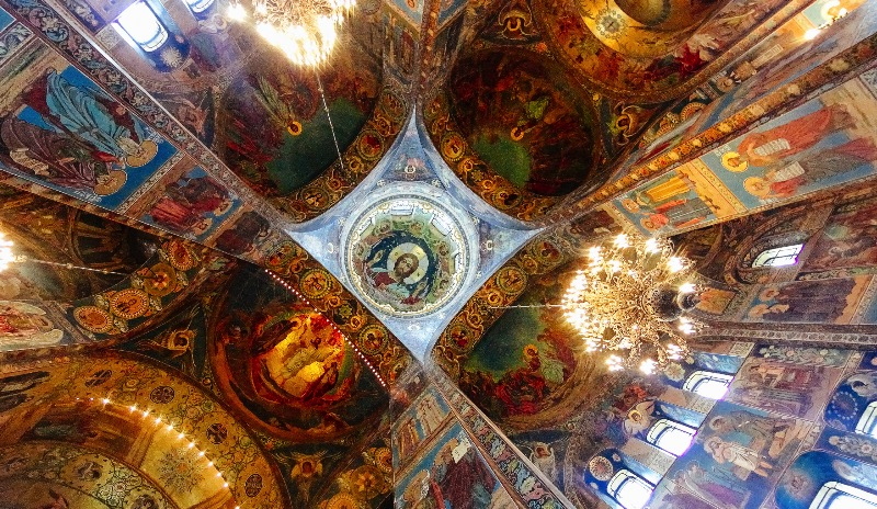 The Church of the Savior on Spilled Blood in St. Petersburg