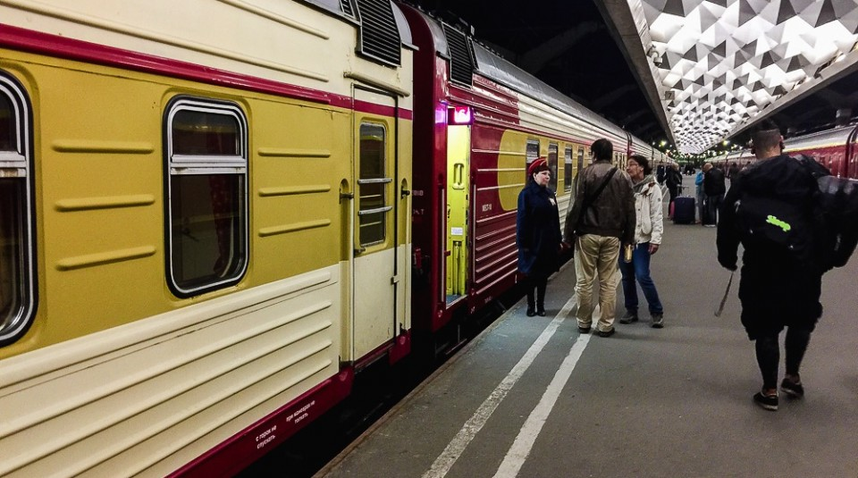 Russian Railroads – A train adventure from Saint Petersburg to Moscow