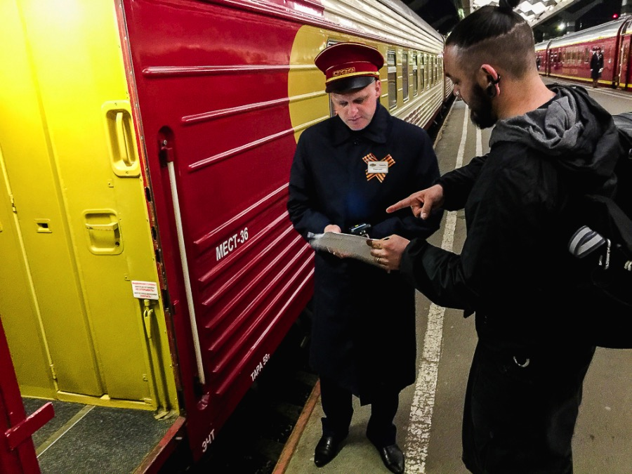 Saint Petersburg to Moscow - A train adventure using the Russian Railroads