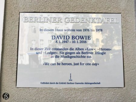 During the seventies, Berlin was a city scarred by a war and by a wall the split it in half. This was the city where David Bowie and Iggy Pop decided to live, trying to escape the drug culture of Los Angeles. But where did David Bowie live in Berlin?