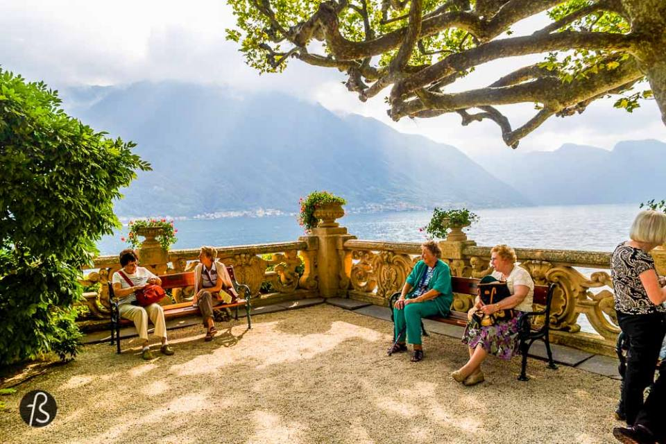 From the bus stop to the entrance of Villa del Balbianello is approximately 10 min walking. The whole journey is 2 hours in total and will cost you around 10€ each way all together. Once you reach Naboo, you must park on the first spot you find. The further you go, since everything is super narrow, harder will be to make a turn. After you get your car in the right spot, you'll be presented with 2 options: hike for 1km or 3. We were super tired after the long week and we had no time to waste, we've chosen the shorter way. Both are outstandingly gorgeous, but the 3km option is a bit more as far as we know.