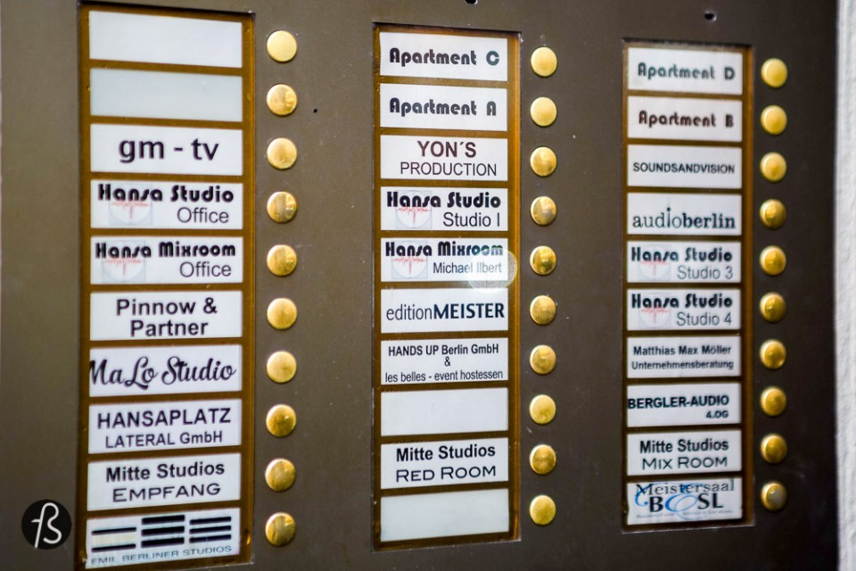 "What to see, where to go at David Bowie's Berlin Hansa Studios Bowie recorded at the famous Hansa Studios. The studio is not far from the reconstructed Potsdamer Platz, but for the story I'm about to tell you, please imagine the wall instead of the giants skyscrappers made of glass. Heroes is one of Bowie's most famous songs. It tells the story of a young couple who are so driven to be together that they would meet every day under a gun turret on The Berlin Wall. Bowie found the inspiration for the lyrics on the affair between his Tony Visconti, his producer at the time, and backup singer Antonia Maass, who would kiss ""by the wall"" in front of Bowie as he looked out of the Hansa Studio window during a smoke break. Bowie didn't say anything about Visconti's role in inspiring Heroes until 2003, when he confessed to Performing Songwriter magazine:"