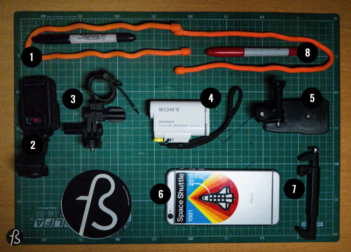 Photography EDC - What I carry on my bag