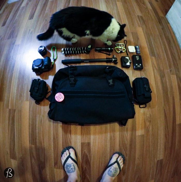 Felipe Tofani's Photography EDC - What I carry on my bag