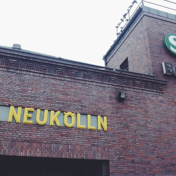 Neukölln is now one of the trendiest areas in Berlin, but back in the 70s not a lot was going on there. Bowie for some unknown reason - at least to me - liked a lot this side of town. The story I heard is that he used to like to take the bus and explore what was then West-Berlin. He used to take the train to the U-Bahn station Neukölln and walk without direction from there. He liked the area so much that he even have an instrumental song called Neuköln, with just one L. This instrumental piece was written by David Bowie and Brian Eno for the album Heroes and can be described as a mood piece. I believe that Neuköln is his way to interpret the nostalgia and loneliness of the Turkish immigrants who made up a large proportion of the area's population - and still do. Some people describe it as the Cold War being viewed through a bubble of blood. Guess you will have to listen to it and see which one makes more sense.